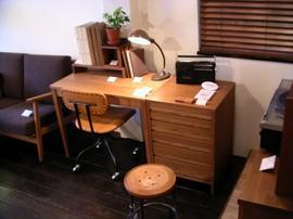 BRUNCH,BRUNCH+WORKS,家具屋,目黒通り,オーダー家具,デスク,書斎